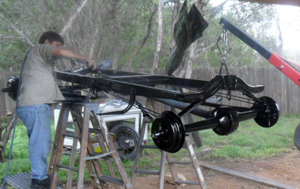 frame - Model A Frame